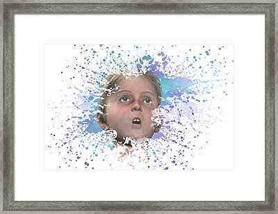 Wonderment Framed Print by Carol & Mike Werner
