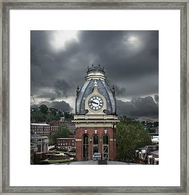 Woodburn Stands Alone Framed Print