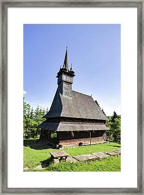 Wooden Church (biserica De Lemn Framed Print