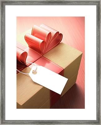 Gift wrap framed art prints fine art america wooden gift box framed print negle Choice Image