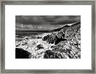 Woolacombe To Morte Point Framed Print by Pete Hemington