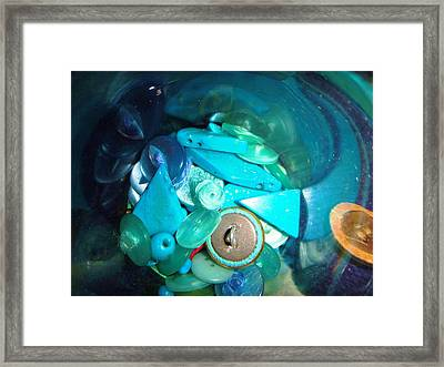 Woosh Framed Print