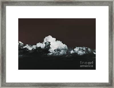 Framed Print featuring the photograph Words Mean More At Night by Dana DiPasquale