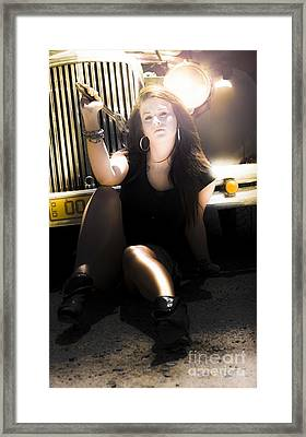 Working Class Woman Framed Print by Jorgo Photography - Wall Art Gallery