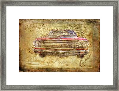 World Class Chevy Framed Print