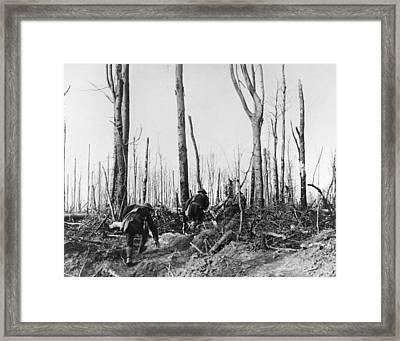 World War I Argonne, 1918 Framed Print by Granger