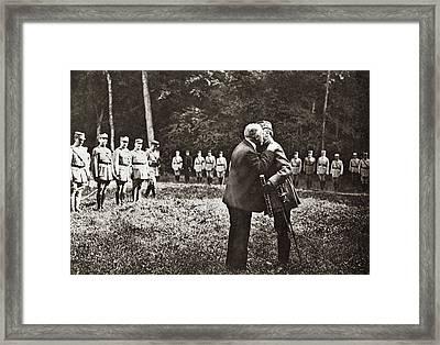 World War I Baton, 1918 Framed Print