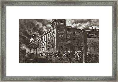 World War I Berlin Framed Print