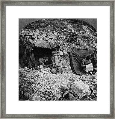 World War I Camp, C1917 Framed Print by Granger