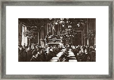 World War I Paris, 1919 Framed Print