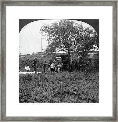 World War I Radio Unit Framed Print