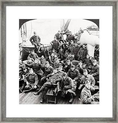 World War I Transport Framed Print by Granger