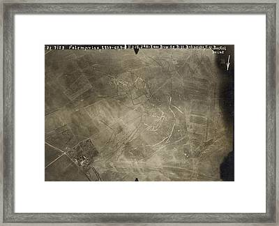 World War I Trenches Framed Print by Ny State Military Museum