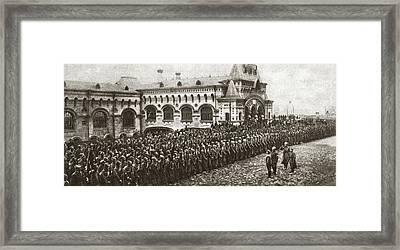 World War I Vladivostok Framed Print