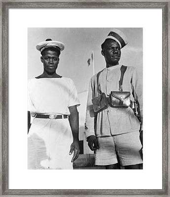 World War II Libya Framed Print by Granger