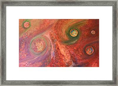 Worlds Without Number Framed Print