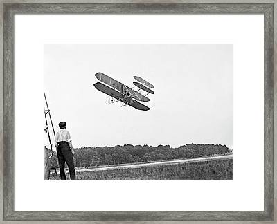 Wright Military Flyer Framed Print by Library Of Congress