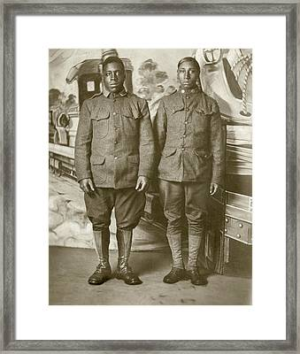 Wwi Soldier, C1916 Framed Print by Granger