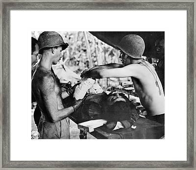 Wwii New Guinea, C1943 Framed Print by Granger