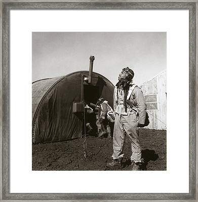 Wwii: Tuskegee Airman, 1945 Framed Print by Granger