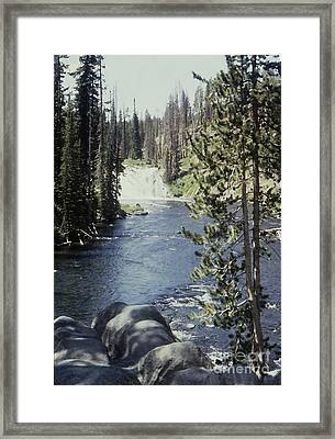 Wyoming Stream Framed Print by Adeline Byford