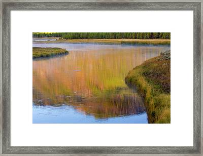 Wyoming, Yellowstone National Park Framed Print by Jaynes Gallery