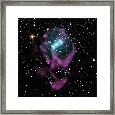 X-ray Binary Stars Framed Print by Nasa/cxc/univ. Of Wisconsin
