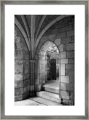 Yale University Saybrook College Framed Print by University Icons