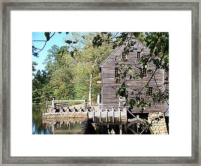 Yates Mill Framed Print by Kevin Croitz