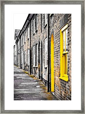 Yellow Door Framed Print