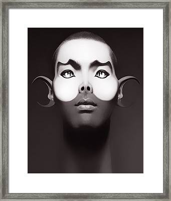 Yellow Framed Print by Yosi Cupano