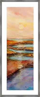 Ying Yang Framed Print by Anais DelaVega