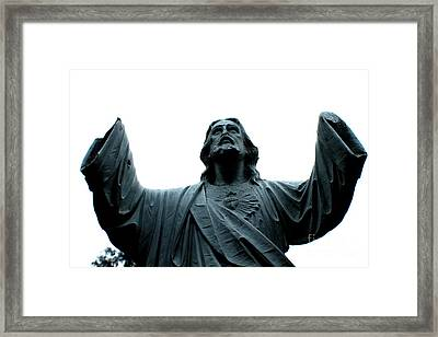 You Are My Hands Framed Print