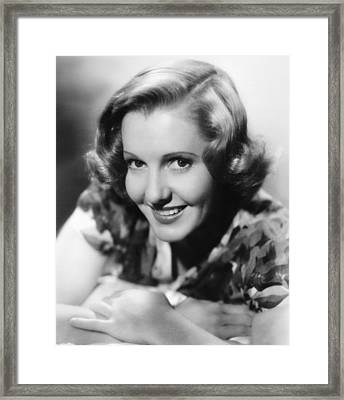 You Cant Take It With You, Jean Arthur Framed Print by Everett