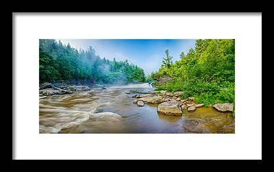 Swallow Falls State Park Framed Prints