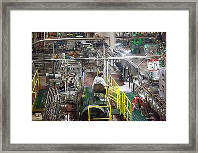 Yuengling Brewery Framed Print