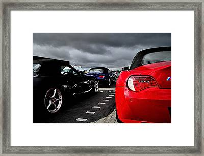 Z4 Collection Framed Print by Phil Kellett