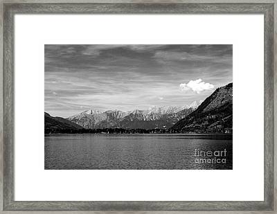 Zell Am See Framed Print