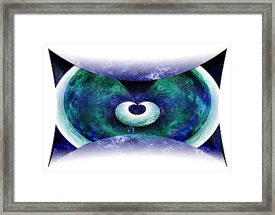 Zen Framed Print by Christopher Gaston