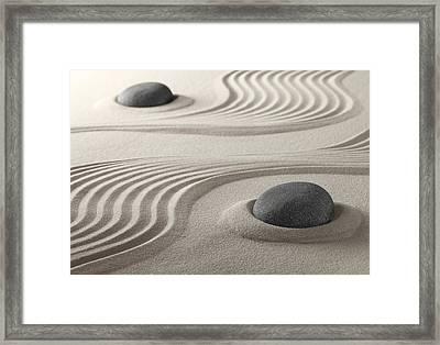 Zen Garden Framed Print by Dirk Ercken