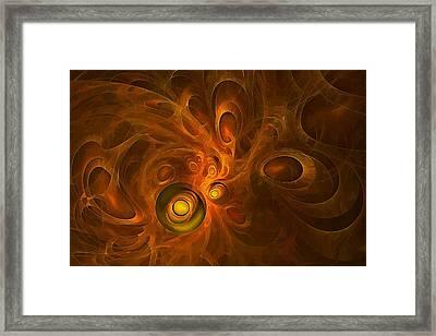 Zero Point Energy Framed Print by Doug Morgan