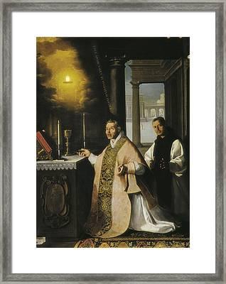 Zurbaran, Francisco De 1598-1664. The Framed Print