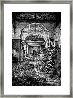 Abandoned Villa Framed Print