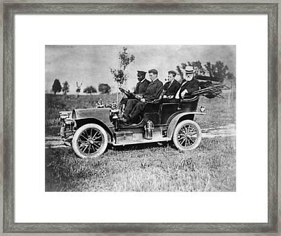 Alexander Graham Bell (1847-1922) Framed Print