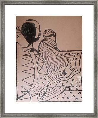 Bikira Maria  Framed Print by Gloria Ssali