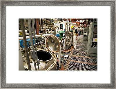 Biofuel Research Framed Print