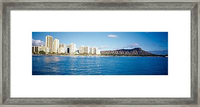 Buildings At The Waterfront Framed Print by Panoramic Images
