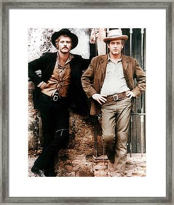Butch Cassidy And The Sundance Kid  Framed Print