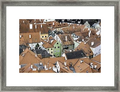 Cesky Krumlov. Framed Print by Fernando Barozza