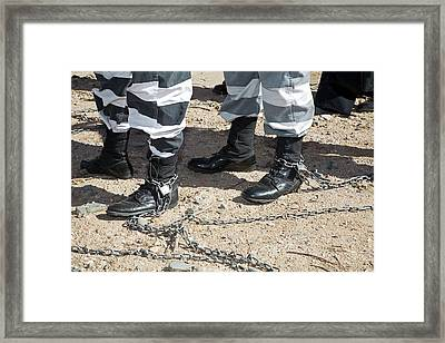 Chain Gang Framed Print by Jim West